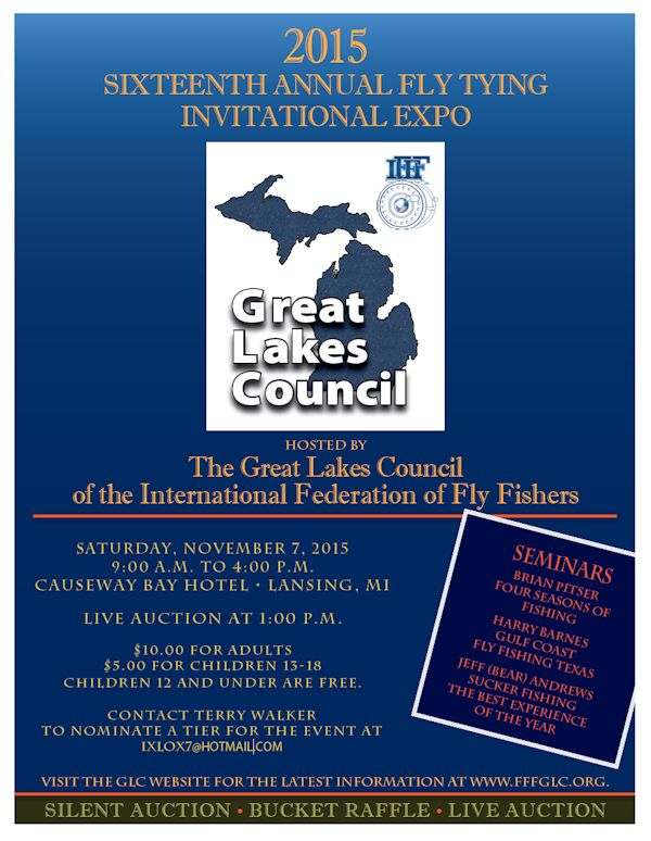 Great Lakes Council Fly Tying Invitaional Expo